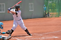 _DSC1647 (Manjhou) Tags: up sport set nikon baseball sigma kaohsiung pitcher position batter 70200mm   pickoff   tainwan         d7200