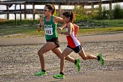 5k race, Mount Trashmore Park, Virginia Beach, Virginia (BDM17) Tags: road park city girls beach sisters race speed virginia competition running racing mount va 5000 5k trashmore