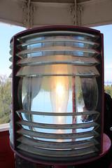Fresnel Lens (jmaxtours) Tags: toronto ontario canada fresnel fresnellens torontoontario torontoislands gibralterpointlighthouse