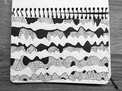 Change frequency (matvei voznik) Tags: blackandwhite motion art illustration pen flow sketch graphics waves dynamic wind drawing sketchbook surface direction sound change layers draw tune canopy subterranean caverns bnw lineart platforms vibration sine undulating flexible tensile frequency porous fineliner sinewaves