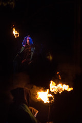 Beltane Festival  - Edinburgh (Udri) Tags: viaje winter music primavera festival fire scotland spring edinburgh carlton folk hill may folklore escocia musica mayo celtic arrival fuego edimburgo dios beltane magia beltaine 2016 godness celtico