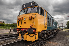 18.06.2016 | 50049, Kidderminster (Jamie A. Hunter) Tags: canon canonef24105mmf4lisusm canonphotography canoninc canoneos5ds class 50 50049 defiance alliance cfoa mbdl kidderminster severnvalleyrailway bridgnorth runningday englishelectric type4 snowploughs