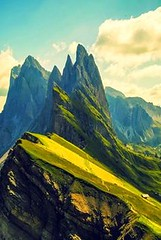 Odle Mountain, Dolom (seewhatyoumean) Tags: italy mountain range dolomites northeastern the located odle