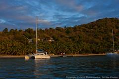 Manchioneel Bay, Cooper Island (3scapePhotos) Tags: travel sunset sea vacation beach sailboat island islands bay boat sailing virgin cooper beaches tropical british caribbean tropics bvi britishvirginislands cooperisland manchioneel