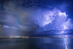 Night into Day (josesuro) Tags: longexposure storm night clouds digital landscapes tampabay florida 2016 tierraverde bocaciegabay floridawestcoast afsnikkor28mmf18g jaspcphotography nikond750