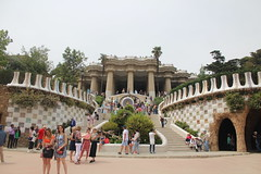 Park Guell (laedri52) Tags: barcelona park architecture spain parcguell parkguell mimari parkgell barselona ispanya