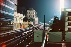 UFO Landing (benriley80) Tags: travel light film train thailand 50mm nikon asia kodak bangkok tracks ufo thai nikkor skytrain bkk bts f801s portra160 n8008s