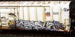 versuz (timetomakethepasta) Tags: versuz kog lts freight train graffiti armn reefer union pacific