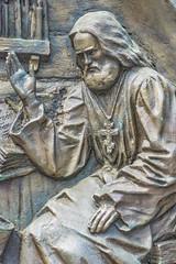 Moscow relief (novarex1) Tags: sculpture garden moscow relief alexander