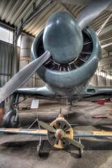Father and son (_gp_) Tags: museum flugzeug verkehr sehenswrdigkeit luftfahrzeug orteallgemein