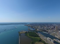 Outer Harbor, Buffalo, NY. (N. Stalsomething) Tags: urban panorama lake water skyline harbor buffalo erie outer drone canalside canalsidebuffalo