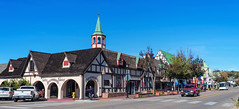 """Rasmussen's"" - Explore (June 26th, 2016 - #377) (TQTran) Tags: california ca street car shop corner automobile fabric gift solvang giftshop fabricshop ramussens"