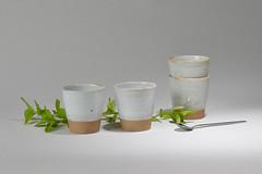 Tea-Bowl-white-brown-005 (cdkceramic) Tags: white cup ceramic tea bowl   cdkceramic