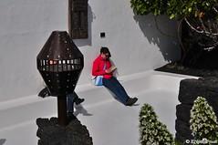 Fundacin Csar Manrique - Tahiche - Lanzarote - Spain (knipsfredi) Tags: art islands spain modernart kunst kanaren lanzarote canary spanien newage csar manrique csarmanrique tahiche kanarischeinseln stiftung fundacin knipsfredi knipsfreddy