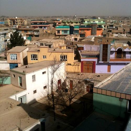 Mazar rooftops