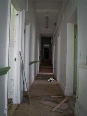 Top Floor Corridor (Alexander Jones - Documentary Photography) Tags: urban home photography for blind decay documentary olympus elderly exploration bridgend urbex southerndown e500