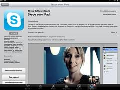 Skype brengt speciaal voor mijn presentatie Retina update uit! (-; #iPadDag