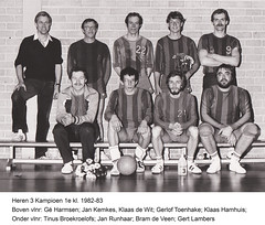 1982 Heren 3 - Tr. Gé Harmsen