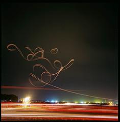 Manfred Radius (TheRobbStory) Tags: hasselblad swc zeiss biogon 38mm f45 kodak ektar 100 canoscan 8800f manfredradius sunnfun airshow night longexposure wideangle fireworks lighttrails sailplane glider soaring florida klal 120 6x6 mediumformat