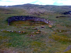 Round Houses, Hallan, South Uist