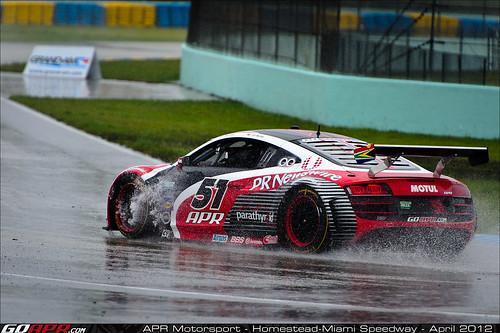 APR Motorsport's Audi R8 Grand-Am Slows After Strong Start