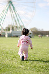 It's Play Time (7oO7oO) Tags: pink sunlight green grass wheel germany fun daylight spring bonn play jana 2012 7070 7oo7oo