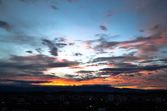 Cúcuta´s Sunset (H.V.R) Tags: city sunset sun nature beautiful landscape cool colombia downtown view cucuta