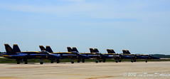 Blue Angels on ramp (Crested Aperture Photography) Tags: usa us andrews maryland andrewsafbairshow2012josh