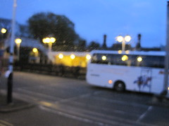 Raining again outside the window IMG_7867 (tomylees) Tags: station evening coach may replacement railway carpark essex 2012 ingatestone
