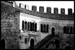 """Where there's a will there's a way"" English Proverb ( fotodisignorina  Felicia Violi PHOTOGRAPHY) Tags: windows blackandwhite bw italy castles digital canon photography eos verona relfex soave italianlandscapes englishproverb"