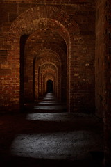 The Inner Passage (95wombat) Tags: old newyork brick statenisland archways fortwadsworth forttompkins