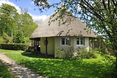 Thatched Cottage (dawn.v) Tags: uk england rural countryside spring may dorset quaint roundhouse thatchedcottage englishcottage chocolateboxcottage