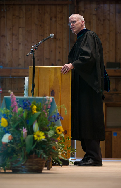 McKibben speaking