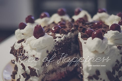 Day 136/365: Slice Of Happiness (jennydasdesign) Tags: cake 50mm cherries chocolate cream german slice type 365 2012 torte blackforestcake trta schwarzwlder kirschtorte project365 365days sonydslra300 dt50mmf18sam sliceofhappiness