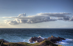 Amazing cloud formation - Alderney