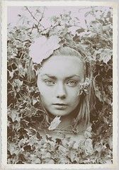 Vintage Version (Jax Wilson) Tags: woman flower girl fashion lady vintage garden photography idea photo leaf secret magic victorian ivy fairy timetravel concept mothernature secretgarden mythical