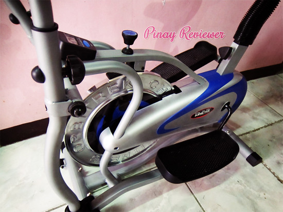 Body Kinetix elliptical bike trainer