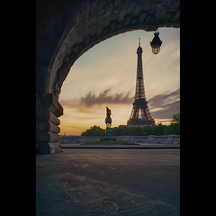 Bir-Hakeim sur Tour Eiffel (Zed The Dragon) Tags: morning bridge light sunset 3 paris reflection statue night photoshop reflections children french lights iso100 high long exposure flickr child shot dynamic minolta sony 28mm f100 eiffel images musee full exposition ciel frame 1900 nd getty pont fullframe alpha nuage range nuit pyramide reflets hdr highdynamicrange 1000 sal lelouvre fond zed gettyimages 2012 1889 francais density matin birhakeim neutral parisien universelle 24x36 poselongue 0sec chrubin a850 sonyalpha nd1000 hpexif concordians dslra850 alpha850 zedthedragon mosaique2012bz