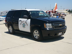 California Highway Patrol (bigmikelakers) Tags: california chevrolet tahoe airshow chevy chp suv statepolice highwaypatrol marchairforcebase