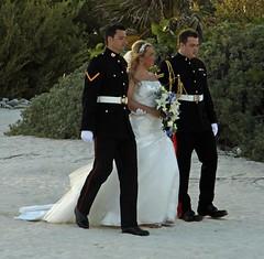 Mexico wedding (CHYNADOG slowly catching up) Tags: flowers tiara beach smart mexico dress niece nephews uniforms weddingday beautifulbride mexicowedding elementsorganizer