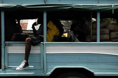 Bus in Georgetown, Grenadines,