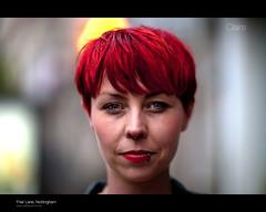 Claire, Friar Lane, Nottingham 81/100 (The Urban Scot) Tags: nottingham portrait 85mm stranger redhead hairstylist 85mm12 8512 100strangers urbanscot canon5dmkii pmcconnochie wwwurbanscotcouk