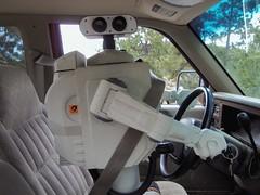 Warm the Car Up (stevenighteagle) Tags: cars truck geek humor robots fantasy future scifi parody sciencefiction fandom