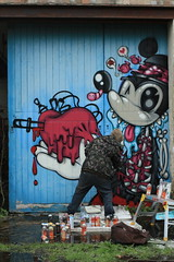 A soggy day filled Heartache ;) (EJECT UK) Tags: wool graffiti montana disney fresh mickeymouse spraypaint bubblegum adidas sewer derelict westyorkshire eject belton wy wildstyle ripmca ejectos