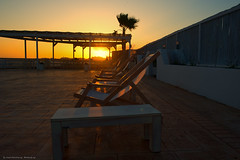 Golden hour (Constantinos Achilleos) Tags: sunset sun island photography nikon chairs relaxing cyprus palmtree napa nikkor constantinos cypriot achilleos d3s conicon constantinosachilleos de3s achilleosphotography wwwachilleosphotographycom