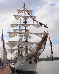 Tall Ship ARC GLORIA (Colombia) (jag9889) Tags: city nyc sea ny newyork history trai