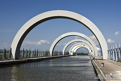 Arcs (DMeadows) Tags: wheel scotland clyde boat canal arch union arc vessel aqueduct forth rotating barge falkirk falkirkwheel davidmeadows dmeadows davidameadows dameadows yahoo:yourpictures=yourbestphotoof2012