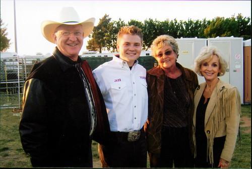 US Congressman Buck McKeon, Auntie Lauretta, and Mrs. Patricia McKeon