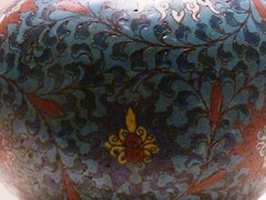 Double-gourd-shaped Cloisonne enamel bottle, Ming Dynasty 13681644 (sftrajan) Tags: china blue beijing muse museo   peking enamel cloisonne chineseart mingdynasty    nationalmuseumofchina  mingdynastie   zhnggugujibwgun chinesischesnationalmuseum  musenationaldechine