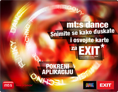 mt:s Dance vas vodi na EXIT (Exit Festival) Tags: festival tickets dance fb application app mts facebook exitfestival exit2012